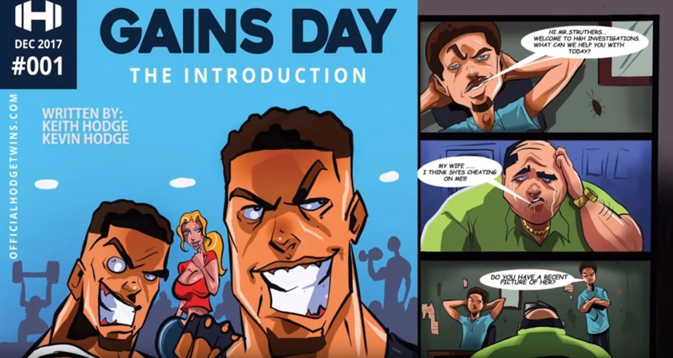 the hodgetwins comic book